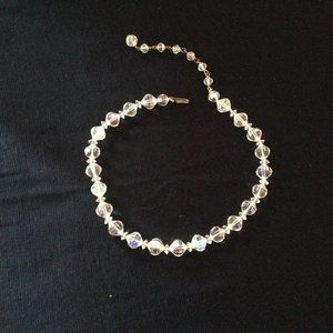 Jewelry - 1950's Vintage Ice Crystal Choker